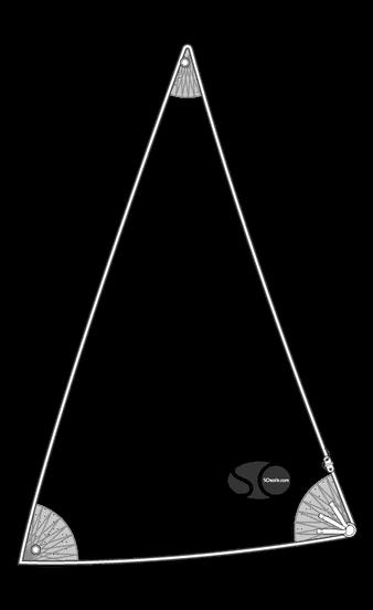 Gennaker polyester 14,14m²