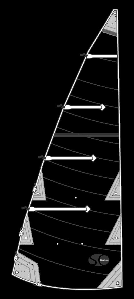 Grand Voile 12,5m² Dacron