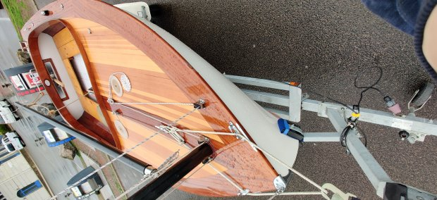 CHANTIER NAVAL FRANCK ROY Nantucket Cat Boat