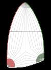 Déstockage Spi asymétrique 58m²